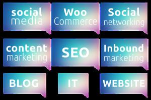 website content samples